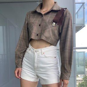 Reworked Vintage Plaid Shirt